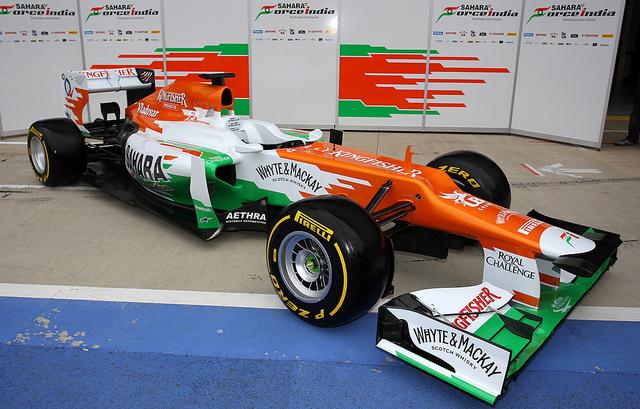 F1 2012マシン】Force India フ...
