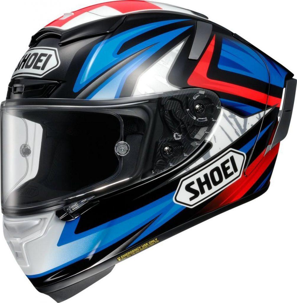 ショウエイ(SHOEI) バイクヘルメット フルフェイス X-Fourteen BRADLEY3 (ブラッドリー3) TC-1 RED/BLACK