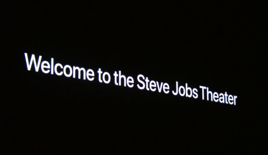 The first-ever event at the Steve Jobs Theater.
