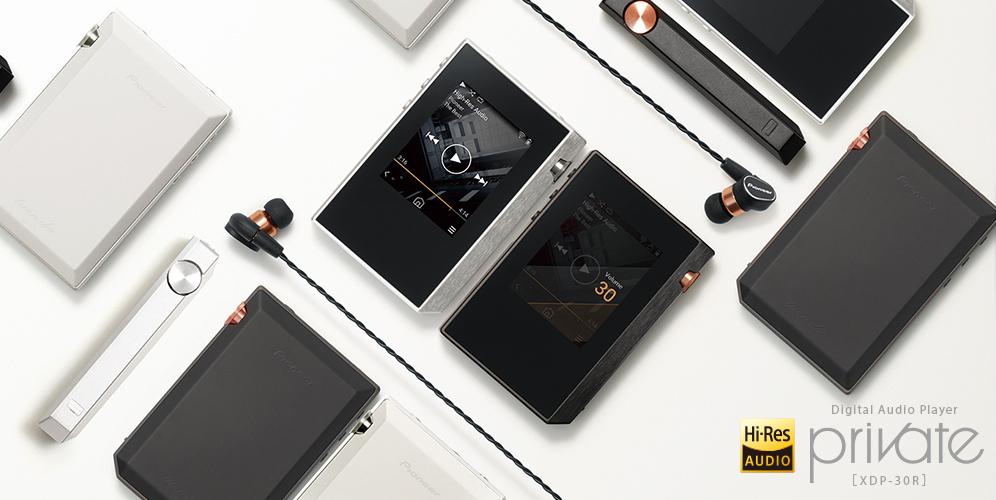 パイオニア Pioneer デジタルオーディオプレーヤー private ハイレゾ対応 ブラック XDP-30R